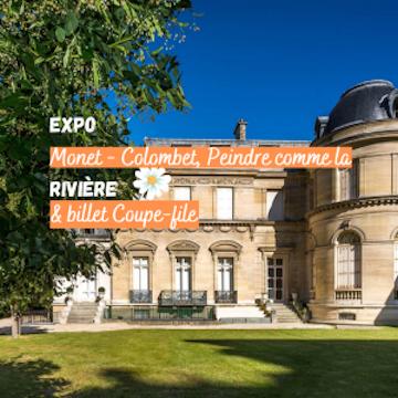 Expo « Monet/Colombet, Peindre comme la rivière » - Coupe-file !