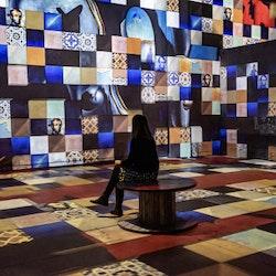 Expo numériques immersives à l'Atelier des Lumières