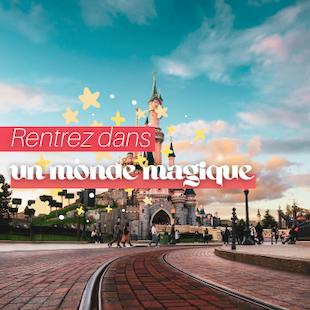 Disneyland Paris - 1 jour 2 parcs