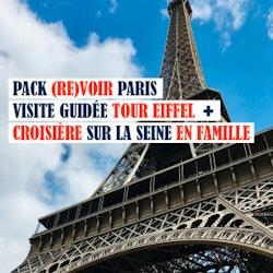Visite guidée de la Tour Eiffel et croisière mémorable sur la Seine  - Spécial Kids !