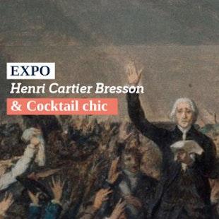 Expo « Henri Cartier-Bresson – Revoir Paris » & cocktails au Serpent à Plume