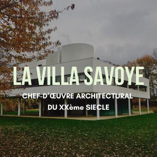 Visite de la Villa Savoye !